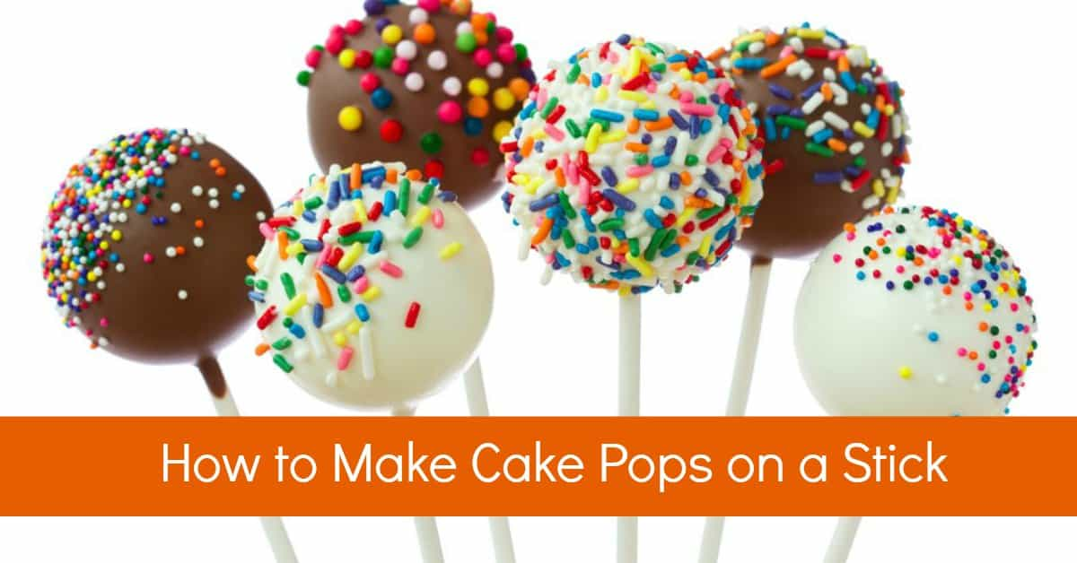 Step By Step Video For Making Cake Balls On A Stick