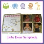 How to Make Your Own Scrapbook Baby Book