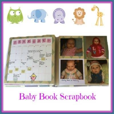 Baby Book Scrapbook