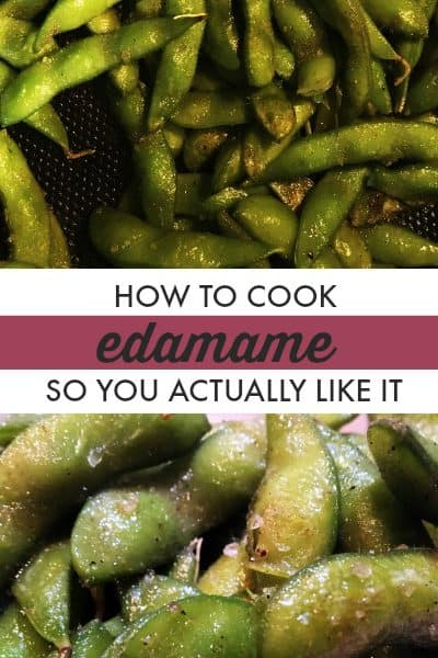Cooking Edamame