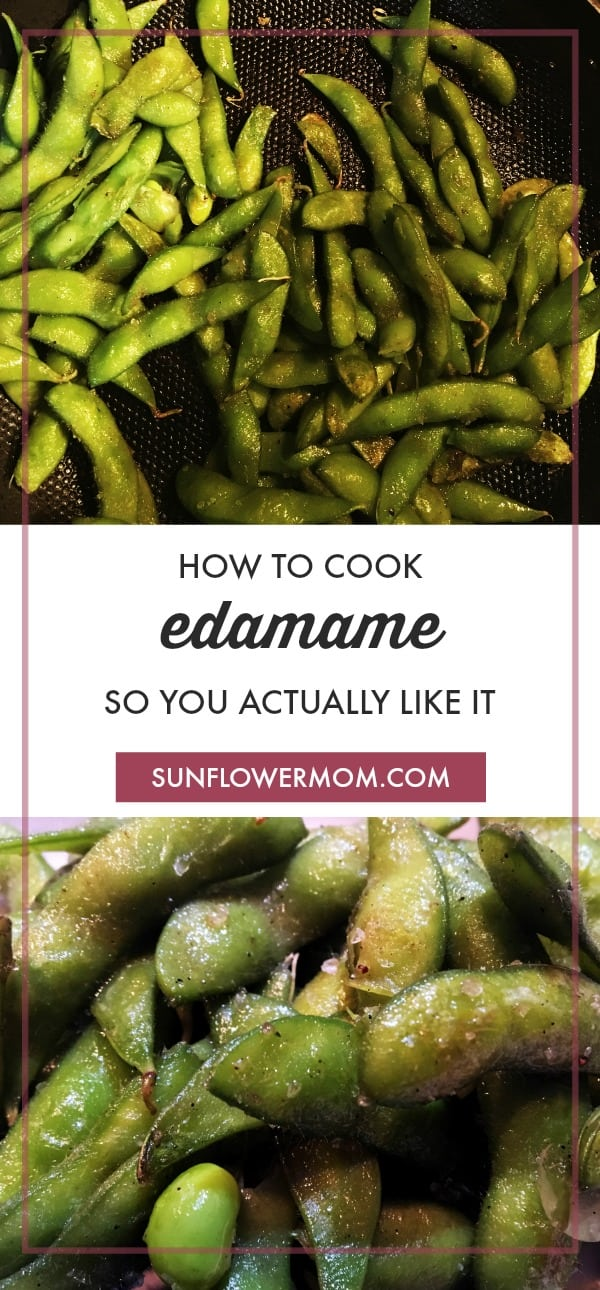 Have you ever had edamame at a restaurant and wanted to recreate it at home? Edamame is the perfect snacking food - it\'s healthy, salty, and a little addictive. You just have to cook it right and you\'ll be hooked! #Vegetarian #HealthyEating #Vegetables