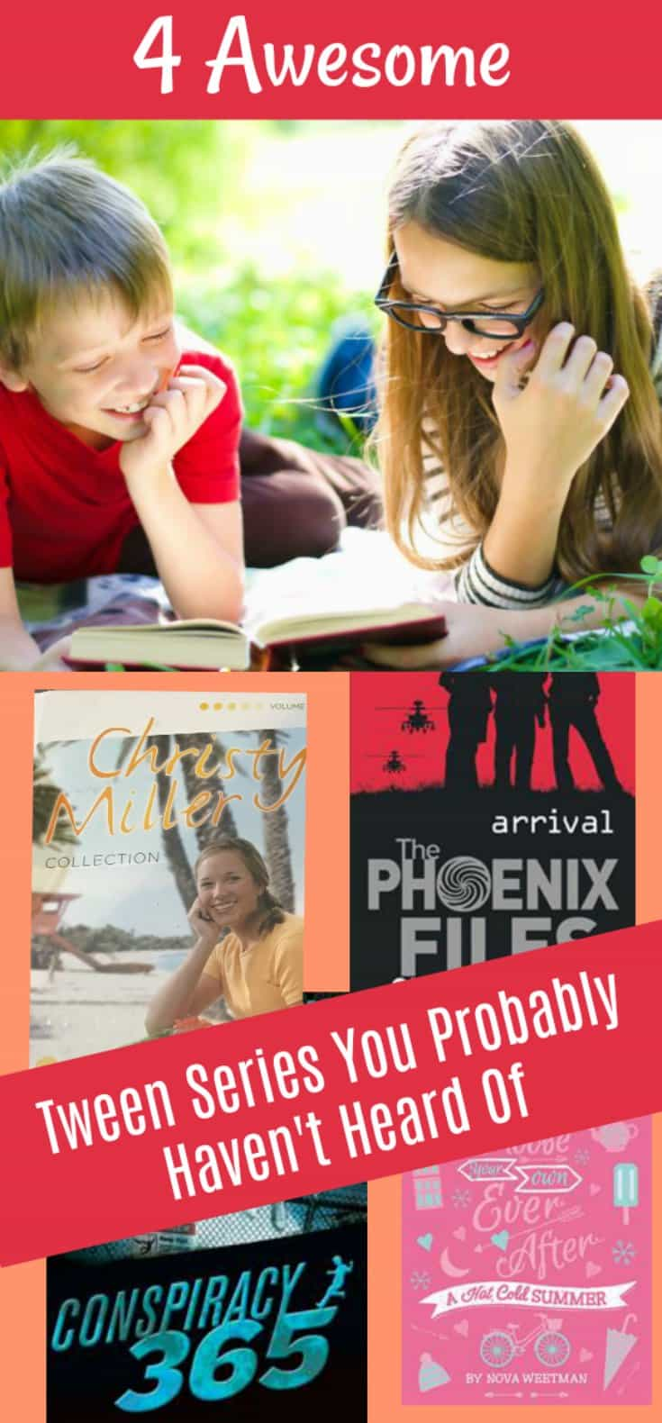Here are 4 awesome book series that you have probably never heard of. I prefer series over regular books for my kids any day - it keeps them enthralled for much longer!