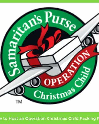 operation christmas child party