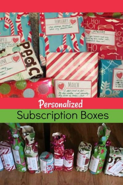 personalized subscription boxes ideas