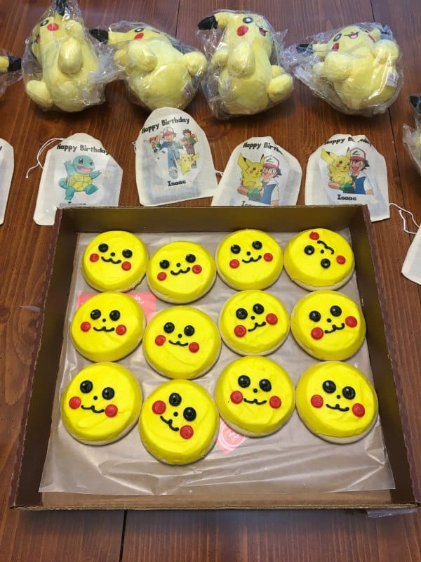 pokemon birthday party ideas food