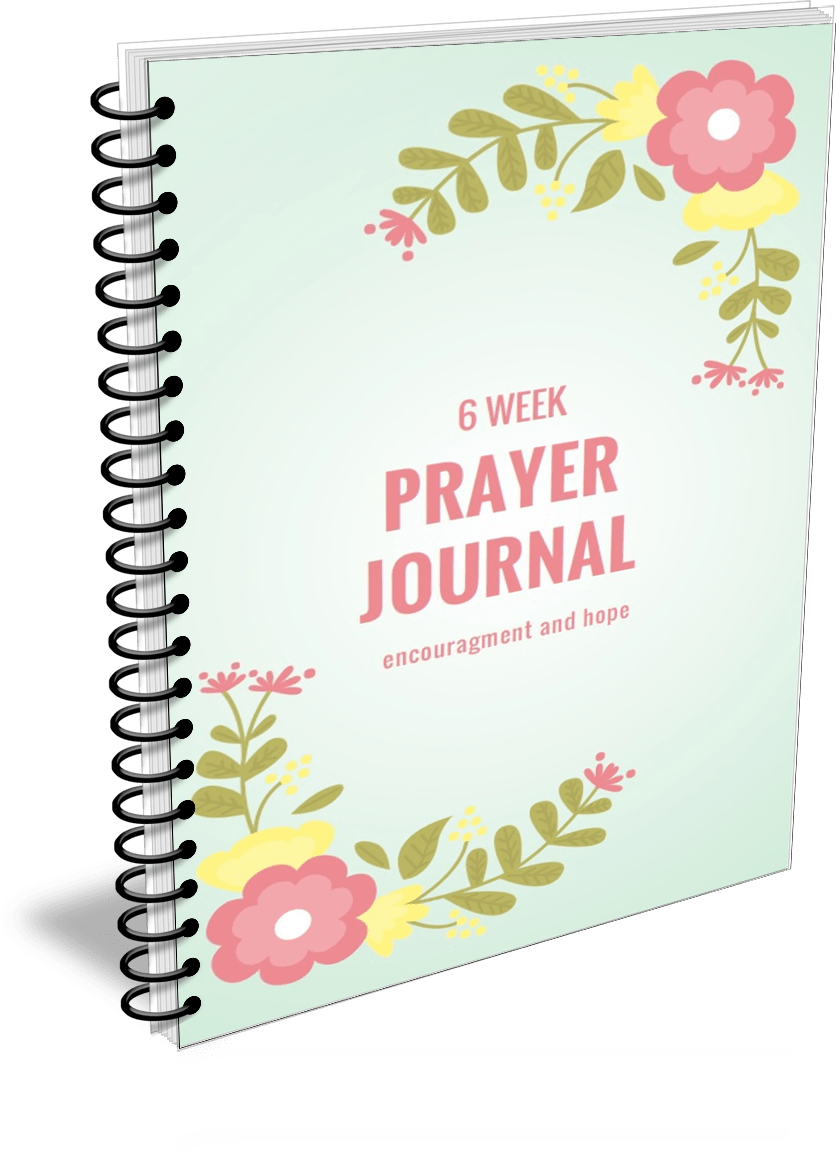 6 week prayer journal