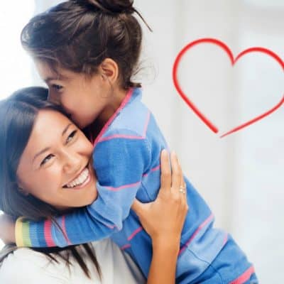 valentine's day as a single parent