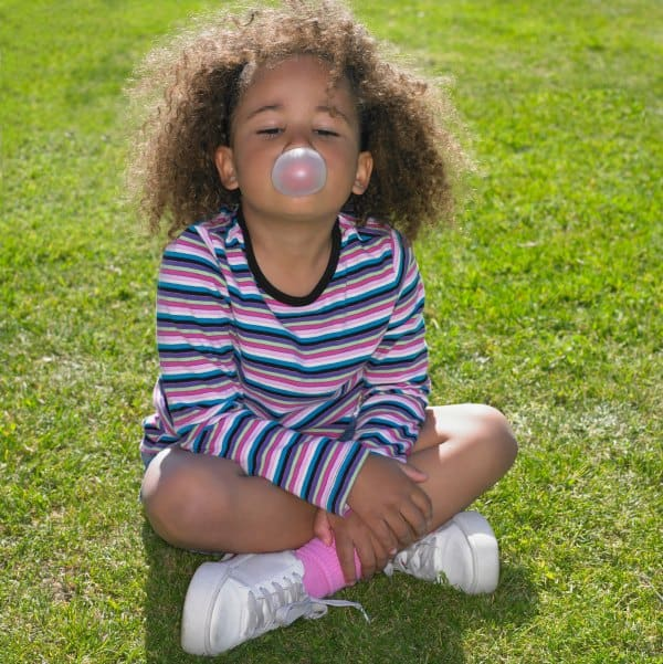 February days of the year for kids bubble gum day