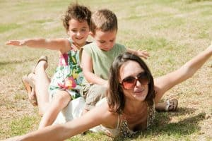 Choosing to stay single when your children are young