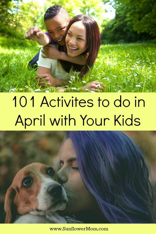 April is more than just April Fools Day. There are actually 101 fun days to celebrate in April with your kids! It doesn't matter where you live and takes little to no planning. You just gotta be ready to celebrate the ordinary days and have fun with your kids! Are you ready?