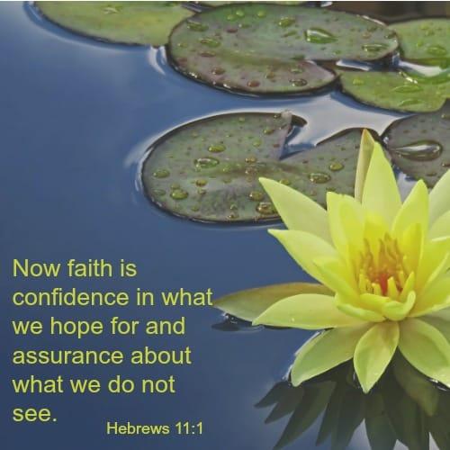 Hebrews 11:1 bible verse