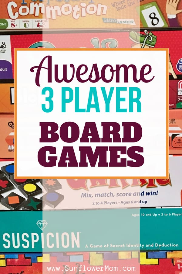 After sampling 50 board games for 3 players, here are our top ten 3 player board games for families. These board games are perfect for children and parents.