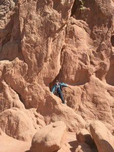colorado springs with kids on rocks