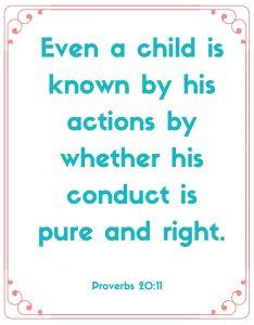 proverbs 20:11