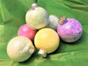 DIY essential oil ornament
