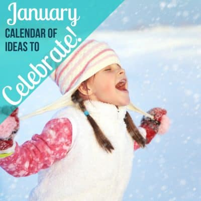 January days of month