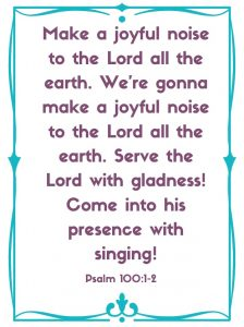 psalm 100:1-2