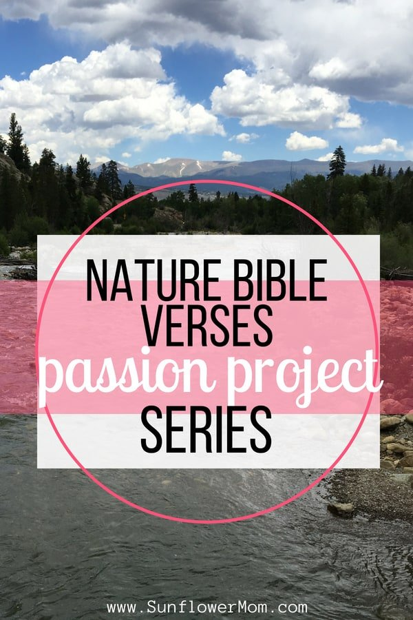 Nature Bible verses for you to experience the wonder of God's creation. Plus free nature Bible verse bookmarks. Set an intention for your next nature walk with these verses.