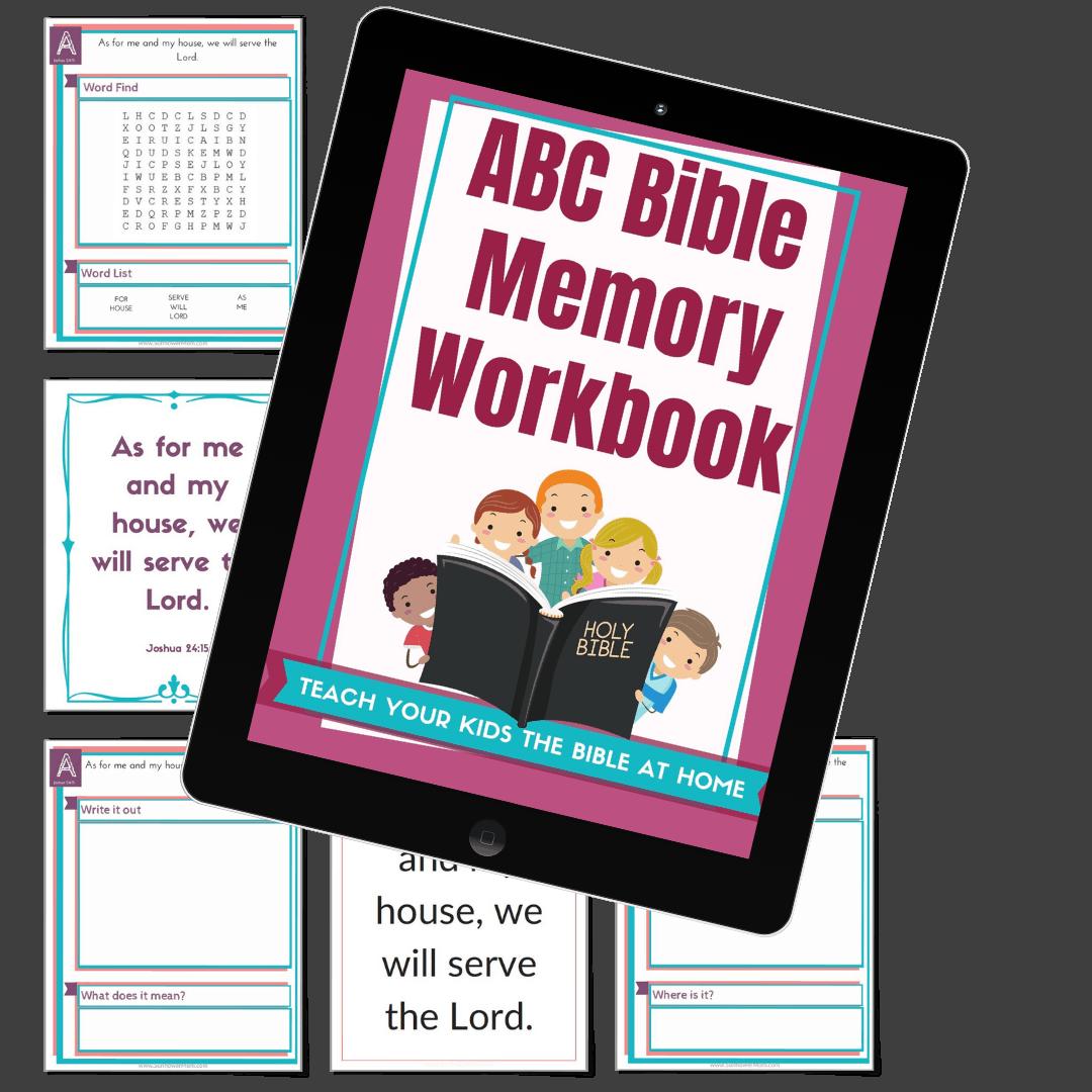 abc bible memory workbook