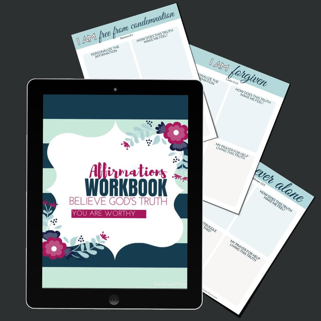 affirmation workbook