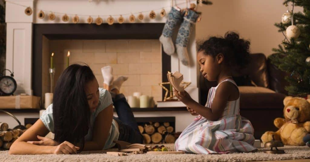 christmas traditions single moms