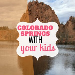 Vacation in with Kids in Colorado Springs – and your Dog!