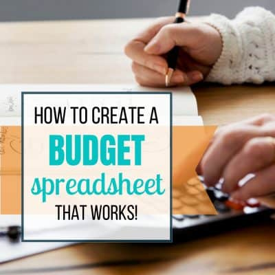 create budget spreadsheet