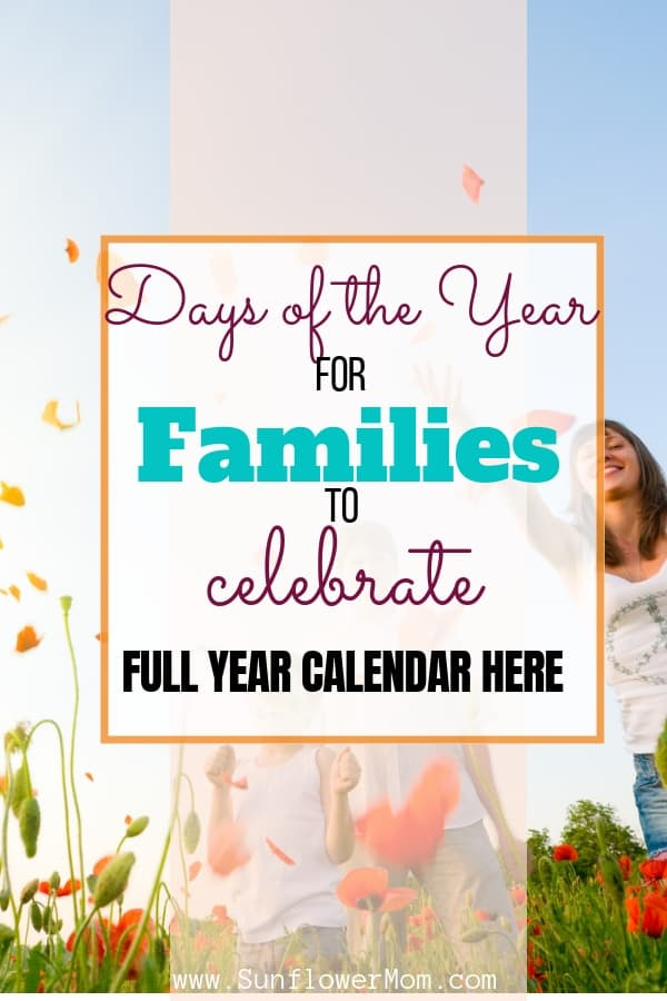 Each month of the year is full of fun and surprisingly silly holidays you probably haven't heard about. I've scoured each month for the most family-friendly