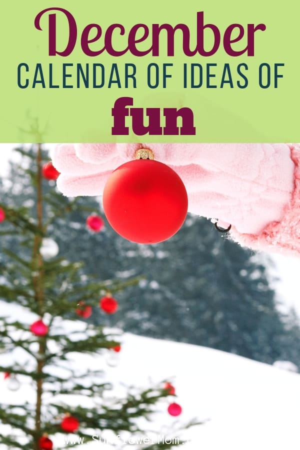 You can get a family friendly list of December days to celebrate here.  The best way to use the calendar is to hang it up and highlight a few to celebrate. December is all about the holidays - here you can see where all the fun days fall and where to plan them all! #parenting #parenting101