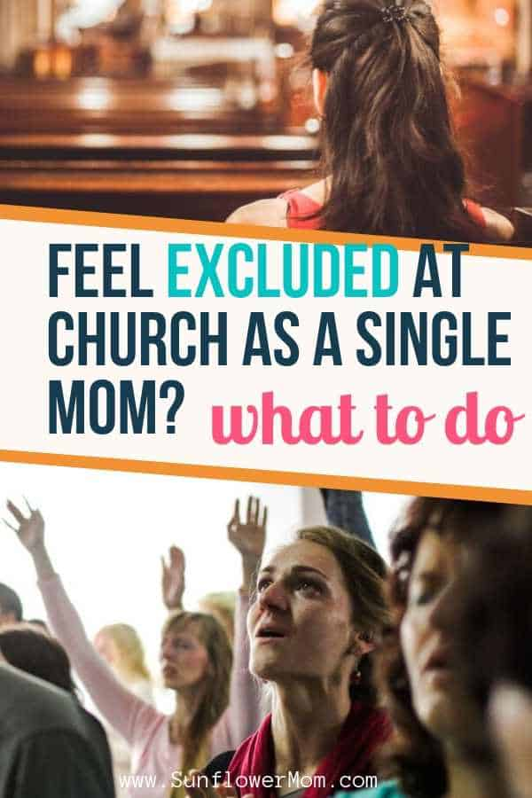 Feeling excluded at church? It\'s no secret church can be hard but you can make friends at church and it is where you belong. Get inspiration and tips on how to beat isolation within the church. #jesus #christian #sunflowermom