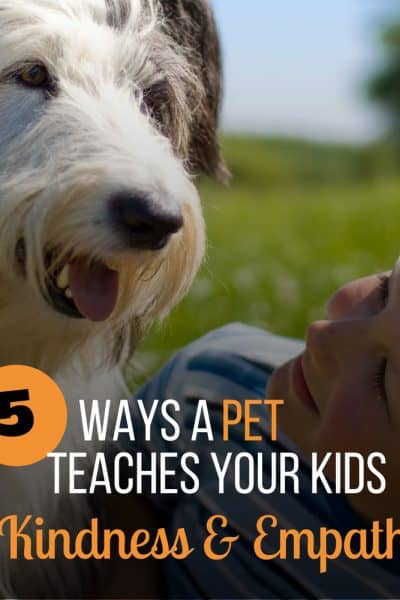 pet teach kids kindness