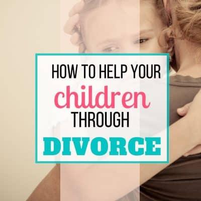 help kids through divorce