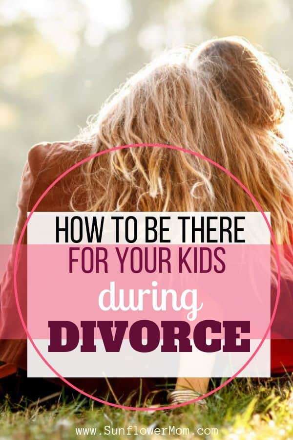 How to help your child through your divorce. As a divorced mother of two and a child of divorce, I\'ve compiled the good and bad parenting advice after divorce. #singlemom #sunflowermom #parenting101 #positiveparenting
