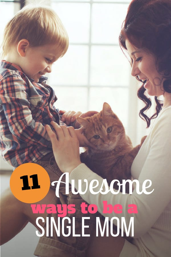 How to be a single mom comes down to a little bit of common sense and a whole lot of intentional parenting. But single moms still have their own unique challenges. Check out these 11 tips to help you become the best single mom you can be along with free printables and 5-day challenge. #singlemom #parenting101 #singleparent #sunflowermom