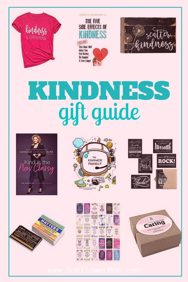 Check out this gift guide which is all about kindness! 11 kindness gifts to inspire you and your family for your next random act of kindness!