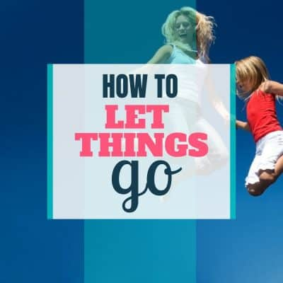let little things go