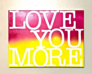 love more sign