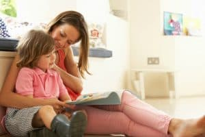 how to be a single mom and child reading
