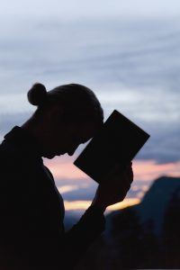 mom with bible