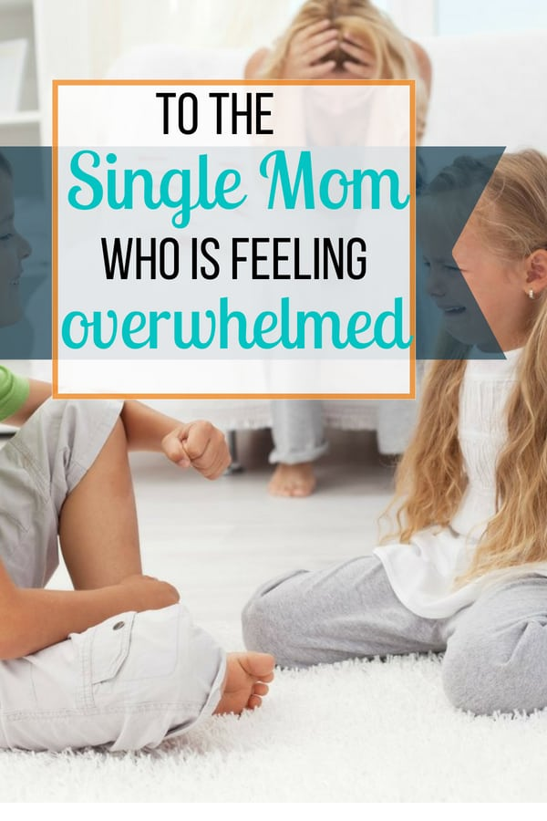 If you are a single mom feeling overwhelmed, one of the key resources is keeping a short list of other adults on standby that you trust. See tips on how to incorporate this into your daily life for specific circumstances even if you don\'t have family nearby.  #singlemom #singlemomlife #positiveparenting #sunflowermom