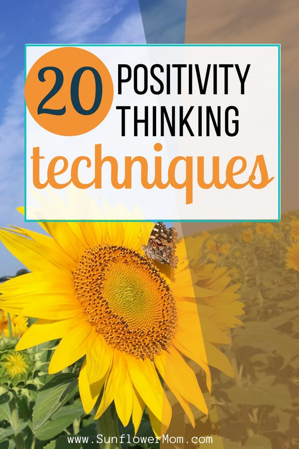 If its a struggle for you to stay positive in our ever-increasing negative world, check out these 20 positive thinking techniques you can begin implementing today!