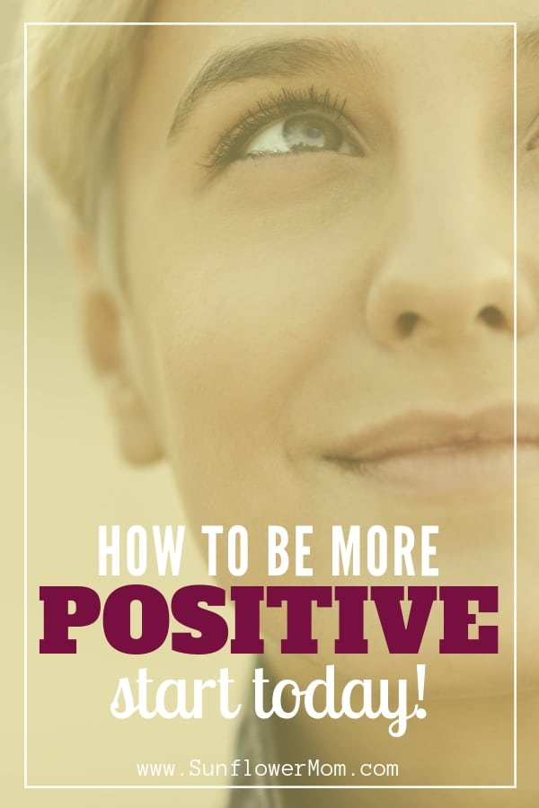 If its a struggle for you to stay positive in our ever-increasing negative world, check out these 20 positive thinking techniques you can implement today. Then join the 5 day single mom positive challenge to apply the concepts. #singlemom #sunflowermom #positive #challenge
