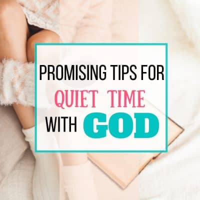 quiet time with god