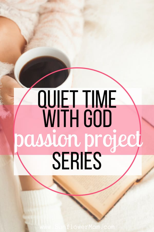 If you don't enjoy quiet time with God each morning it's because you haven't found your sweet spot yet. Check out these ideas and resources to get started.