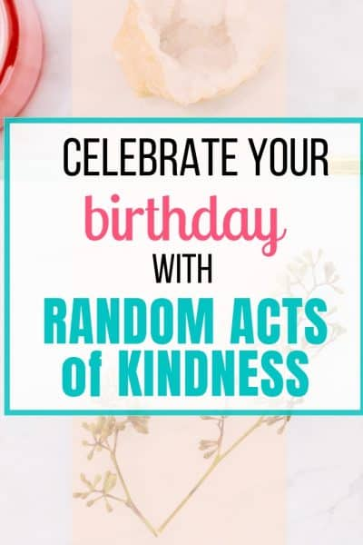 simple acts of kindness ideas