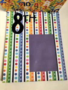 school artwork paper organizer blank grade 8