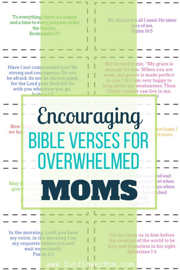 If you need some extra encouragement right now, spend the next 30 days meditating on these 30 encouraging scriptures for moms. Each encouraging scripture is hand-picked from a defeated mom's journey. Print the encouraging scripture cards and hang them up for inspiration!