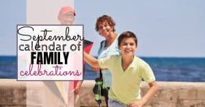 september days of the month for families
