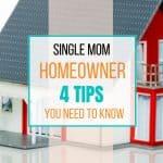 single mom homeowner