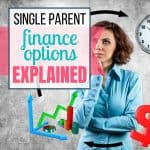 single parent financial options